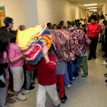 © Ron Sherman; Students Celebrate Chinese New Year