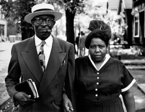 Image credit: Above: Gordon Parks, Husband and Wife, Sunday Morning, Detroit, Michigan, 1950. Courtesy of and copyright The Gordon Parks Foundation.