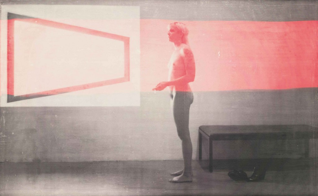 R. H. Quaytman (b. 1961). Distracting Distance, Chapter 16, 2010. Screenprint and gesso on wood, 24 5/8 × 39 7/8 in. (62.5 × 101.3 cm). Whitney Museum of American Art, New York purchase, with funds from the Painting and Sculpture Committee. 2010.54 © R. H. Quaytman